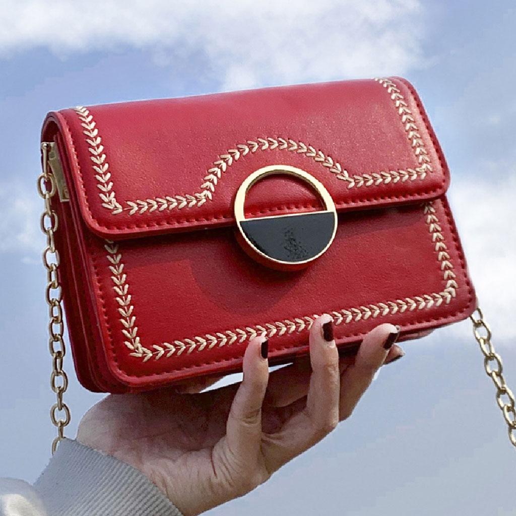 Luxury Handbag (red) - Ltg99137