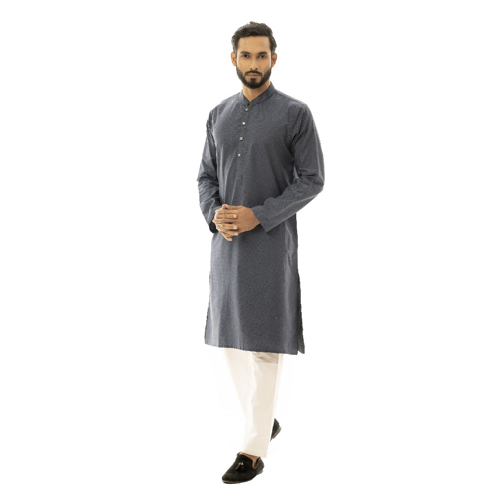 Twelve Premium Punjabi For Men - Deep Blue