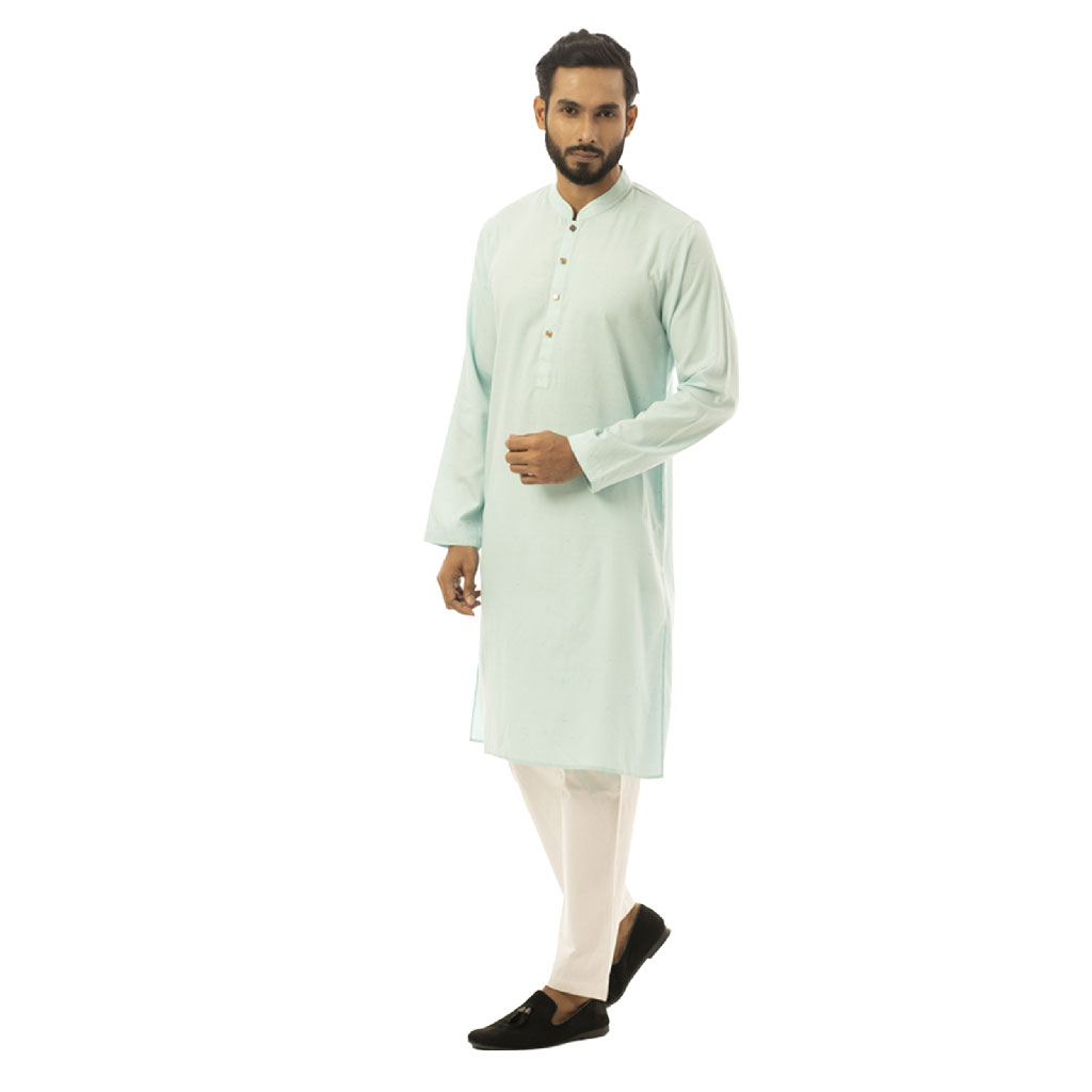 Twelve Premium Punjabi For Men - Turquoise