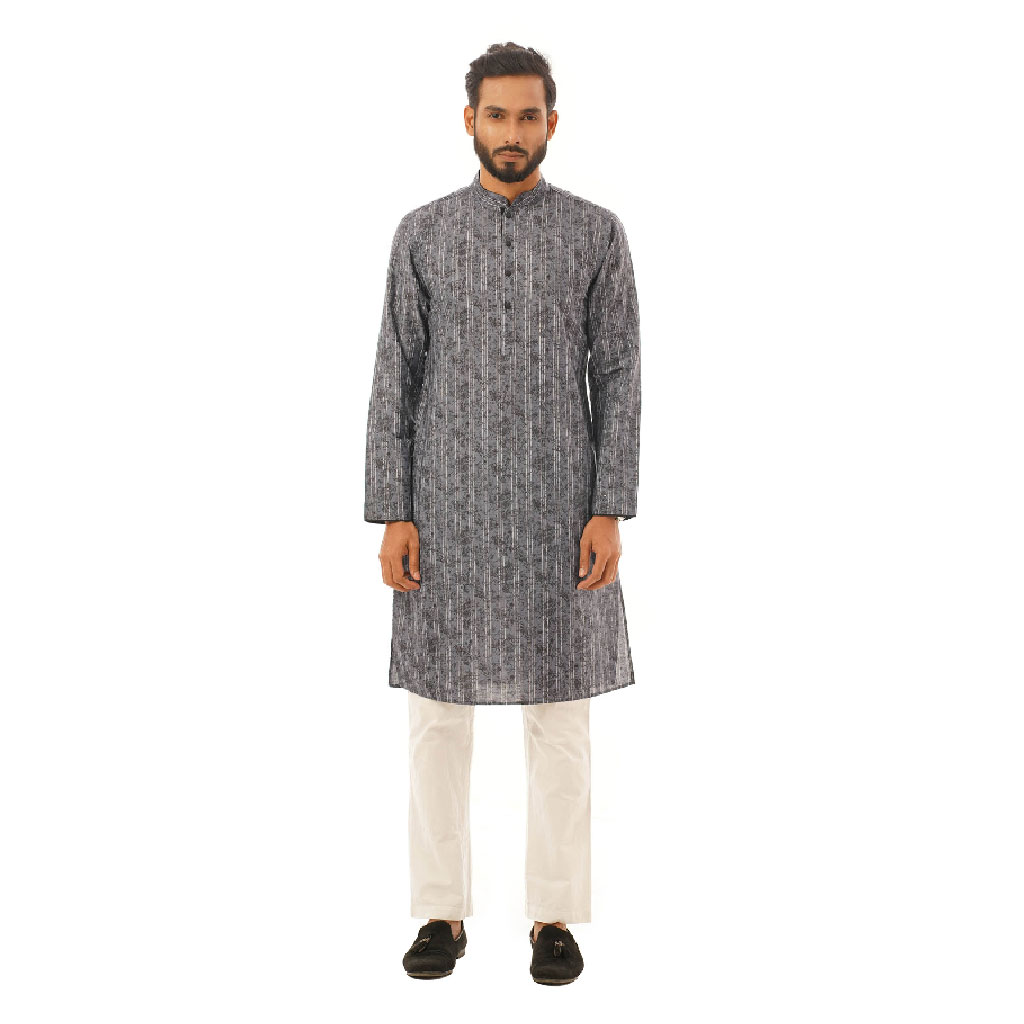 Twelve Premium Punjabi For Men - Blue