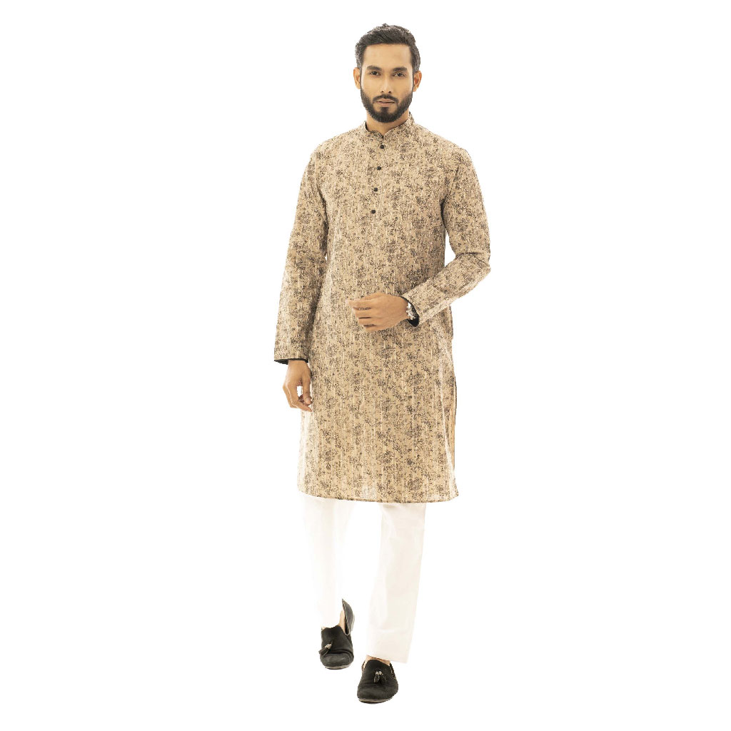 Twelve Premium Punjabi For Men - Brown