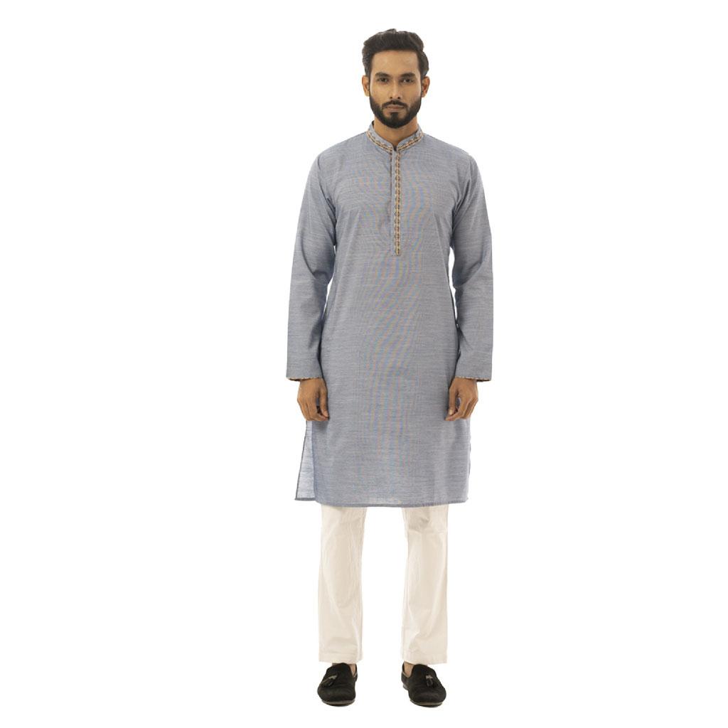 Twelve Premium Punjabi For Men - Blue