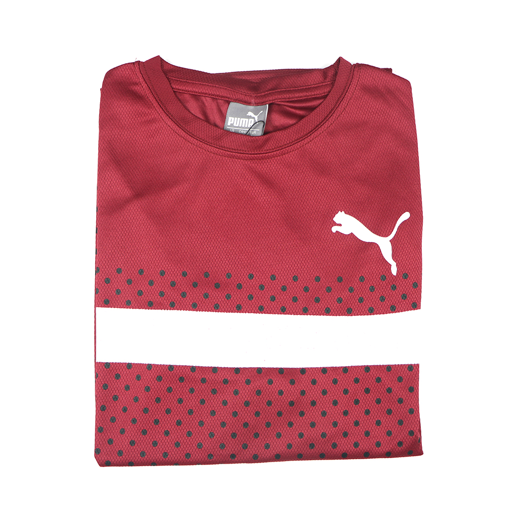 Casual Stylish Jersey T-shirt (maroon)