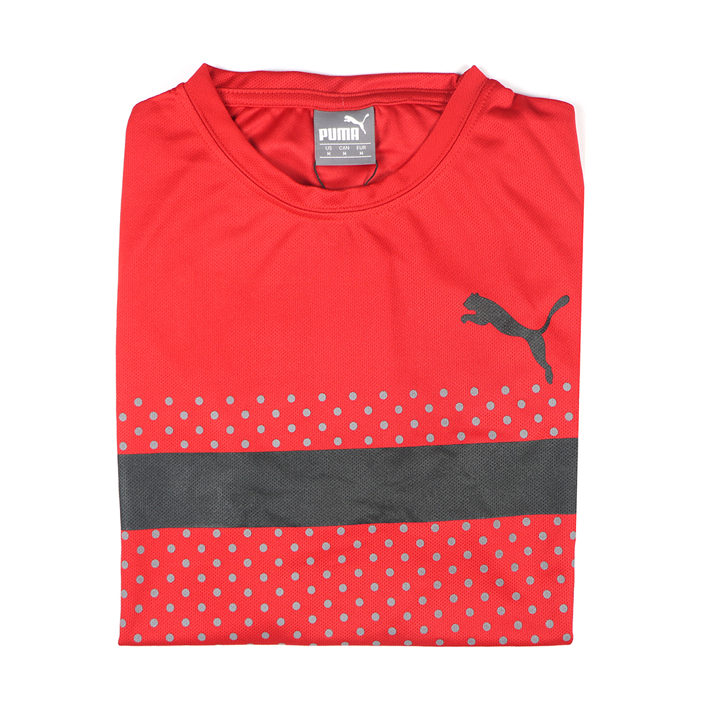 Casual Stylish Jersey T-shirt (red)