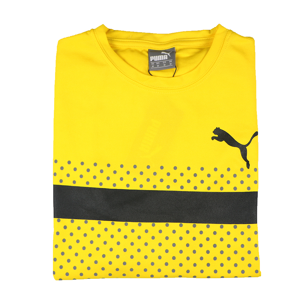 Casual Stylish Jersey T-shirt (yellow)
