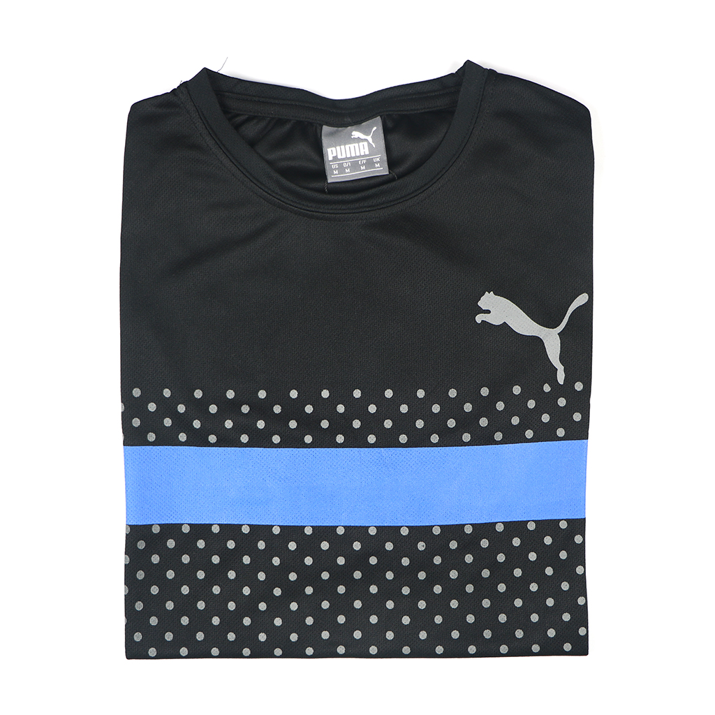 Casual Stylish Jersey T-shirt (black)
