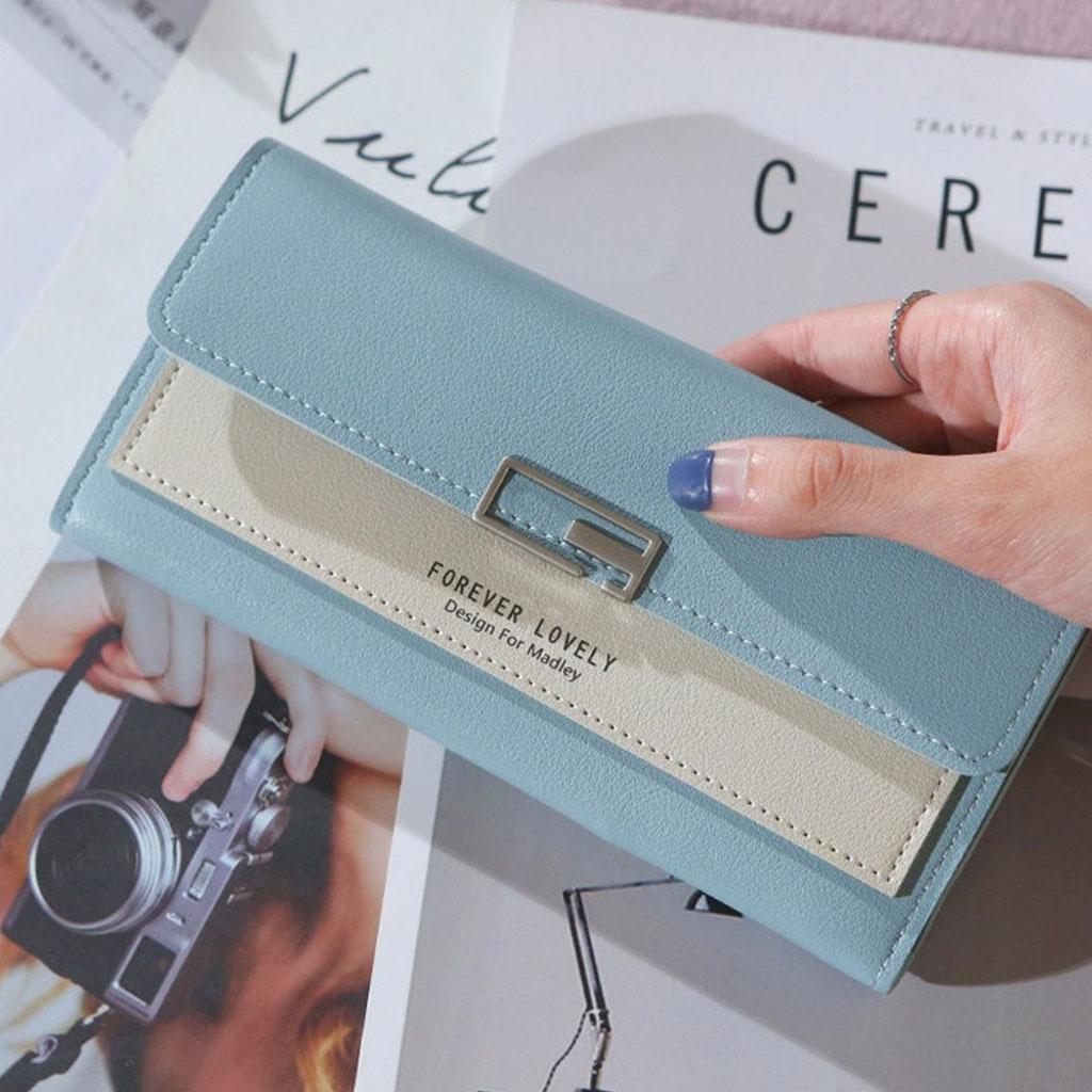 Ladies Wallet - Blue