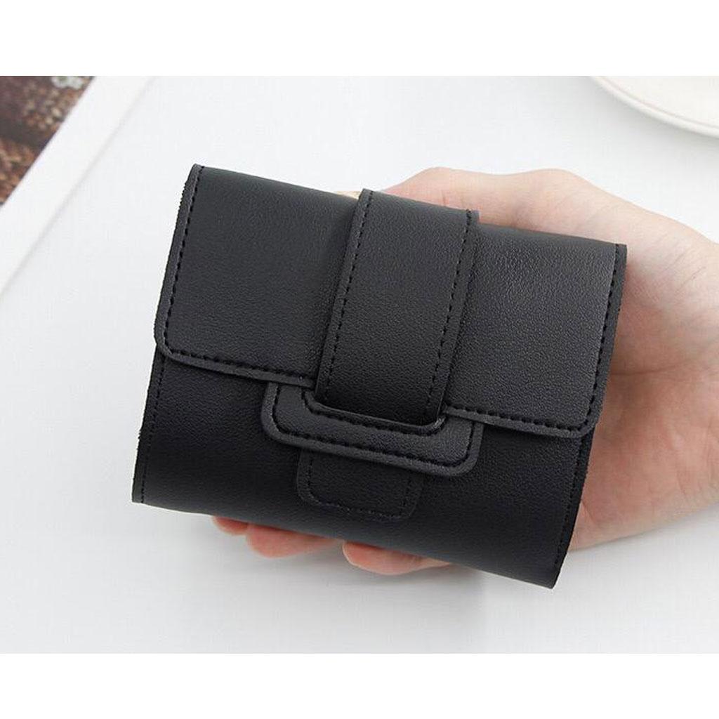 Card Holder Coin Purse - Black