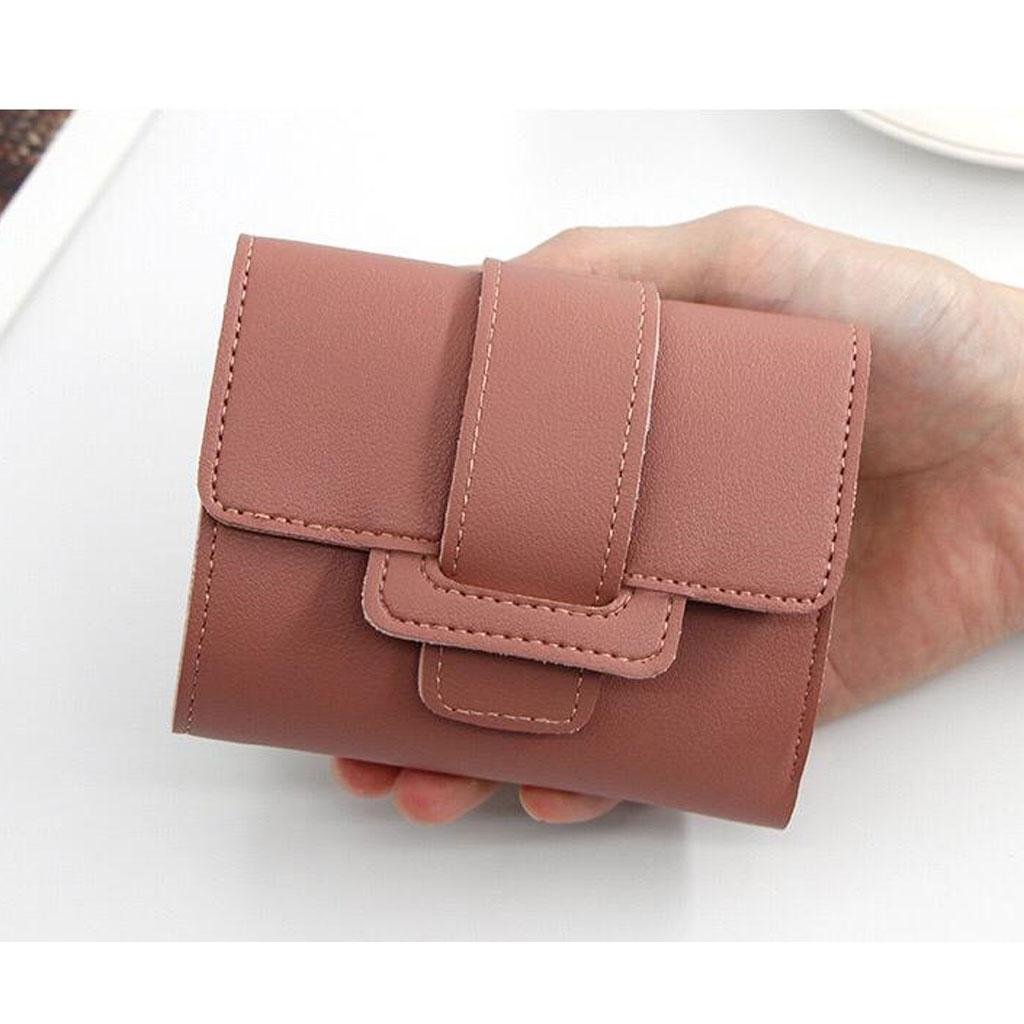Card Holder Coin Purse - Brown