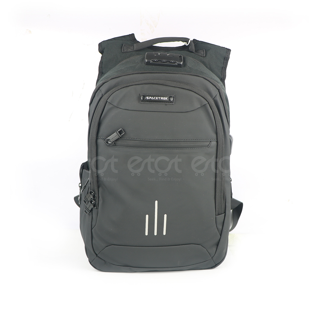 Spacetrek 19-716# Laptop Office Backpack (black)