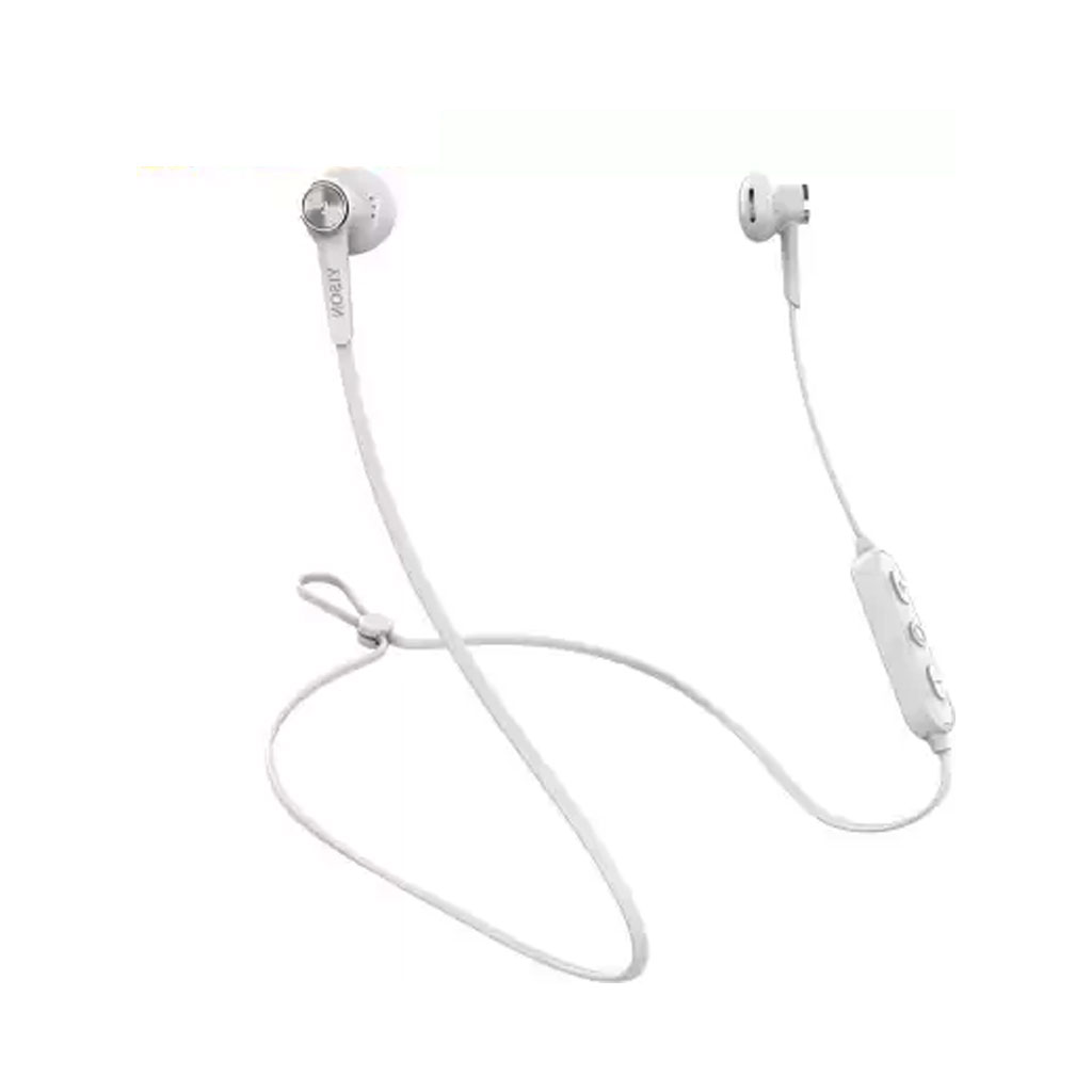 Yison E13 Magnetic Bluetooth Earphone - White