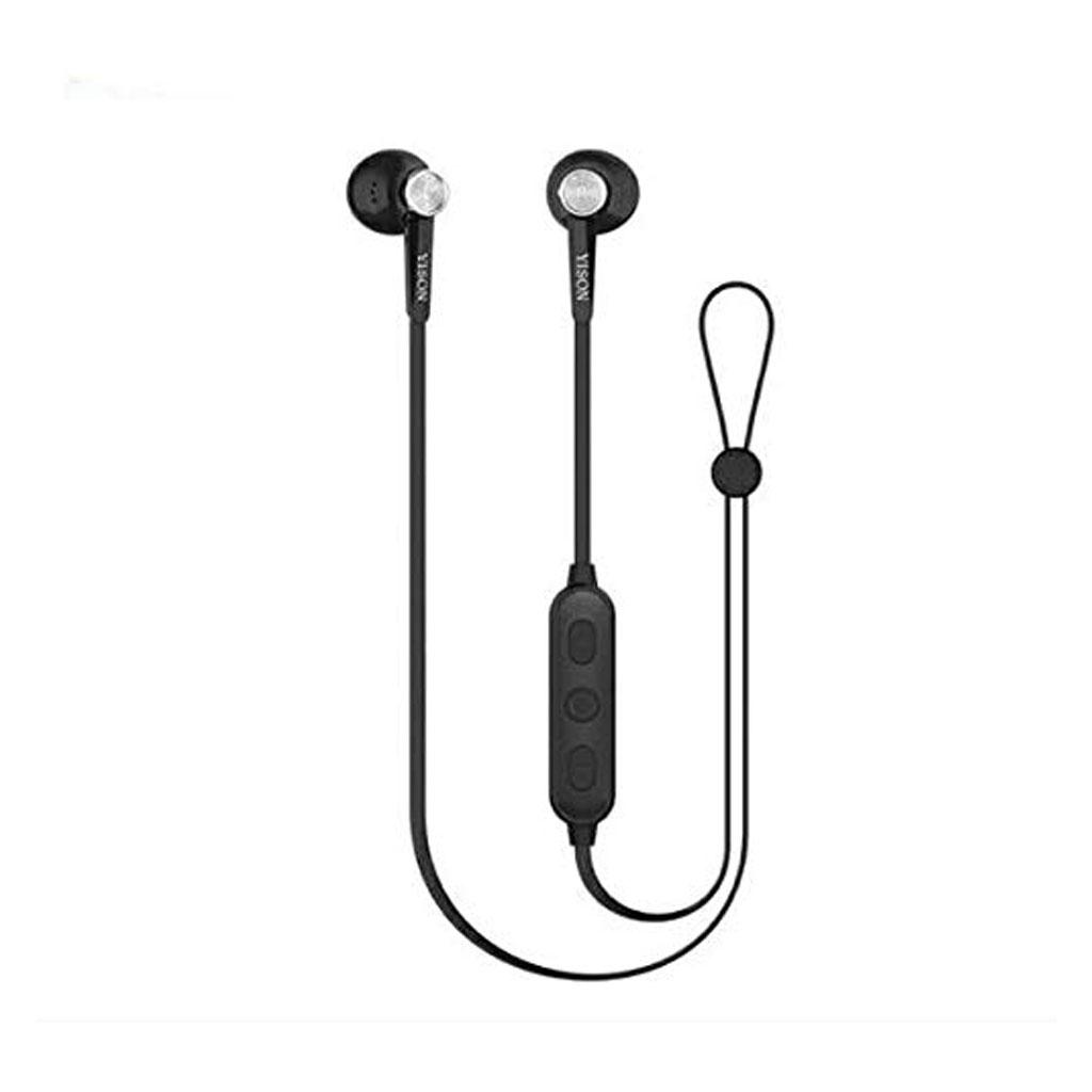 Yison E13 Magnetic Bluetooth Earphone - Black