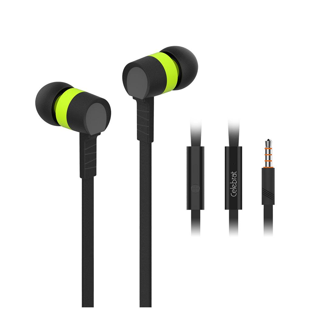 Yison D2 Premium Earphones - Green