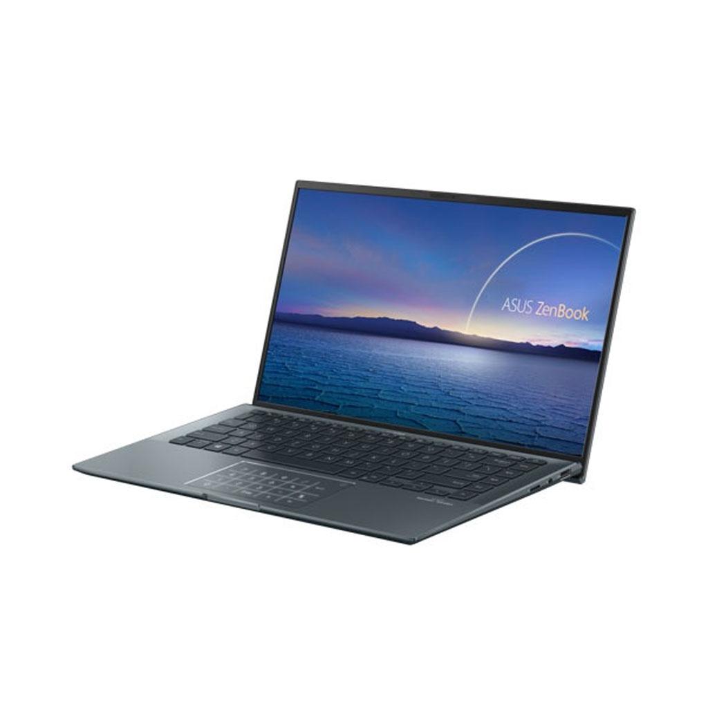 Asus Zenbook 14 Ultralight Ux435ea-1135g7 11th Gen Core I5 Pine Grey Laptop