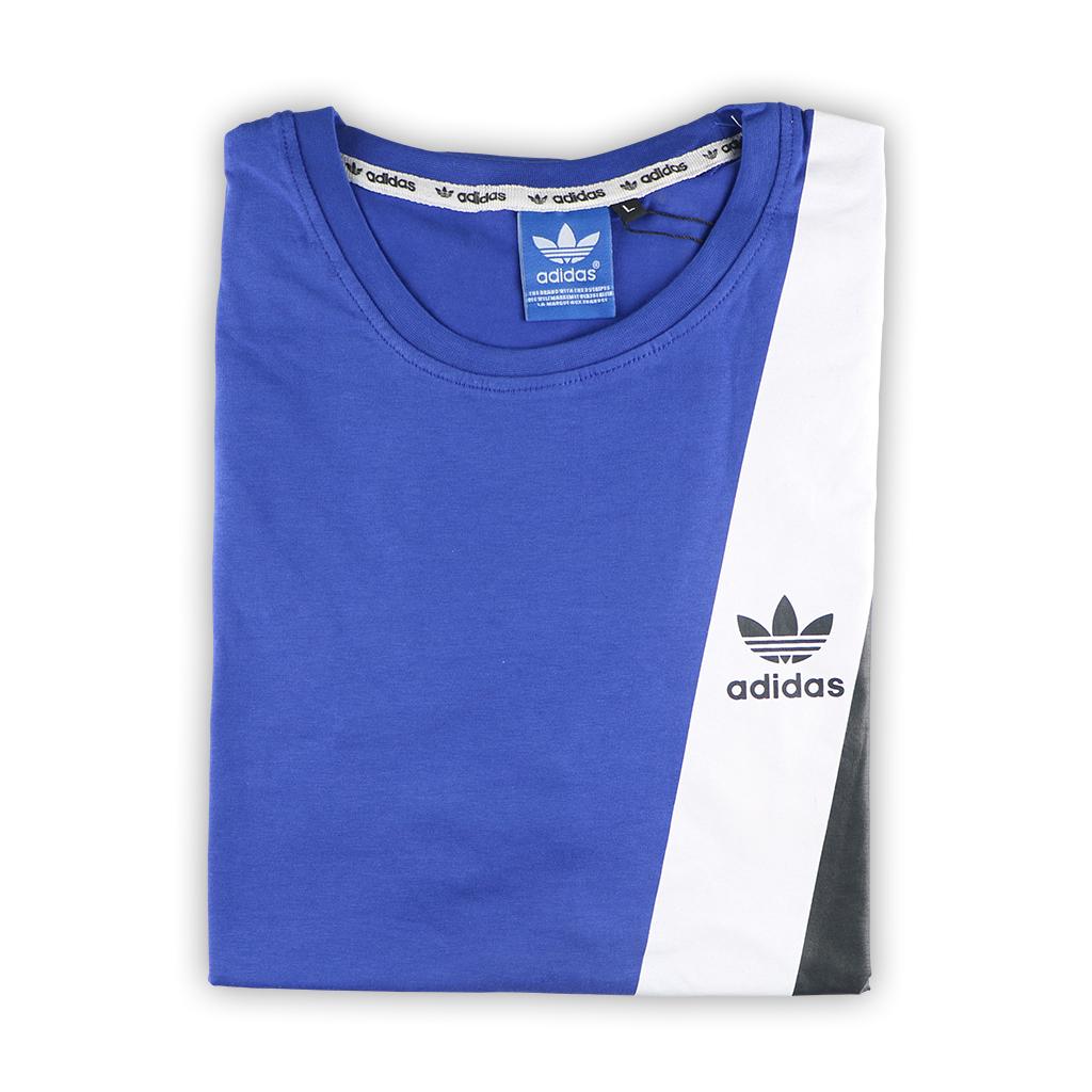 Exclusive Premium Quality Round T-shirt For Men - Blue