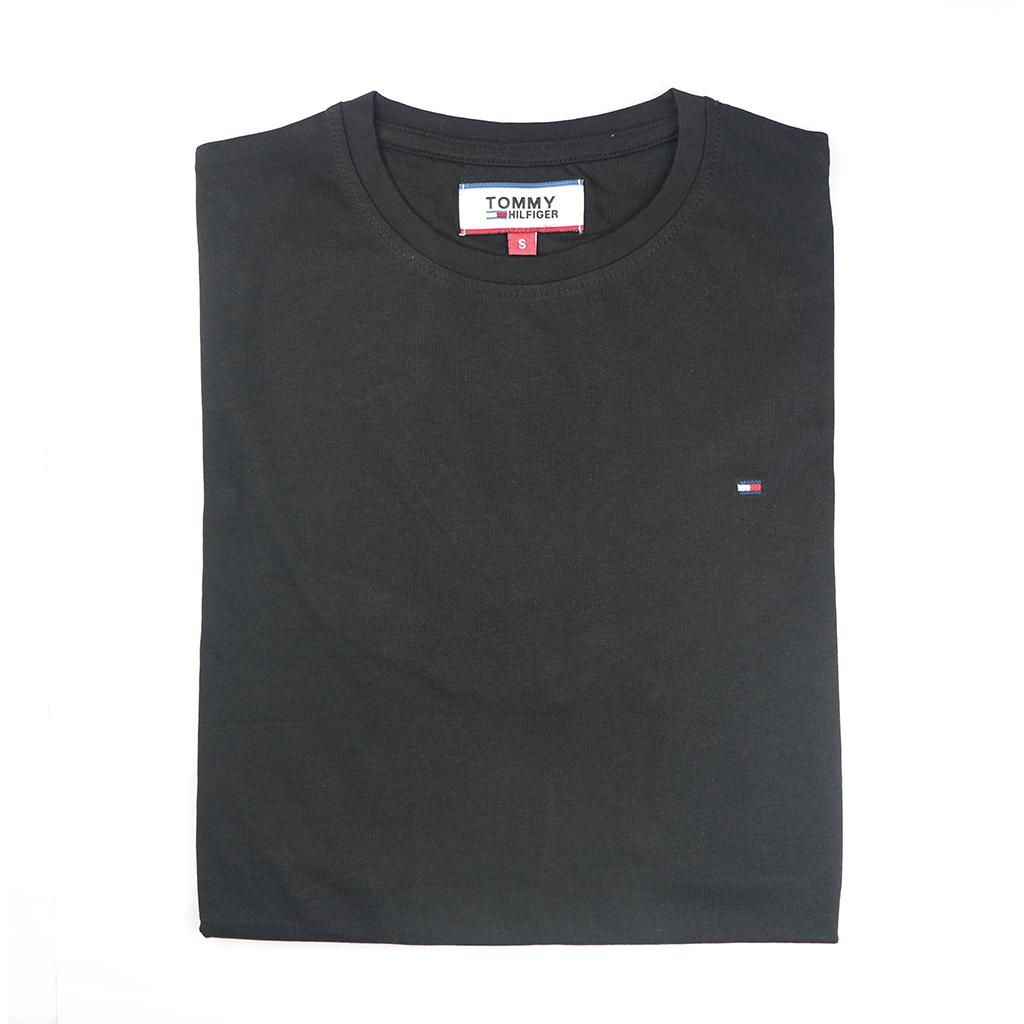 Men's Premium Quality Exclusive Fashionable Short Sleeve T-shirt (black)
