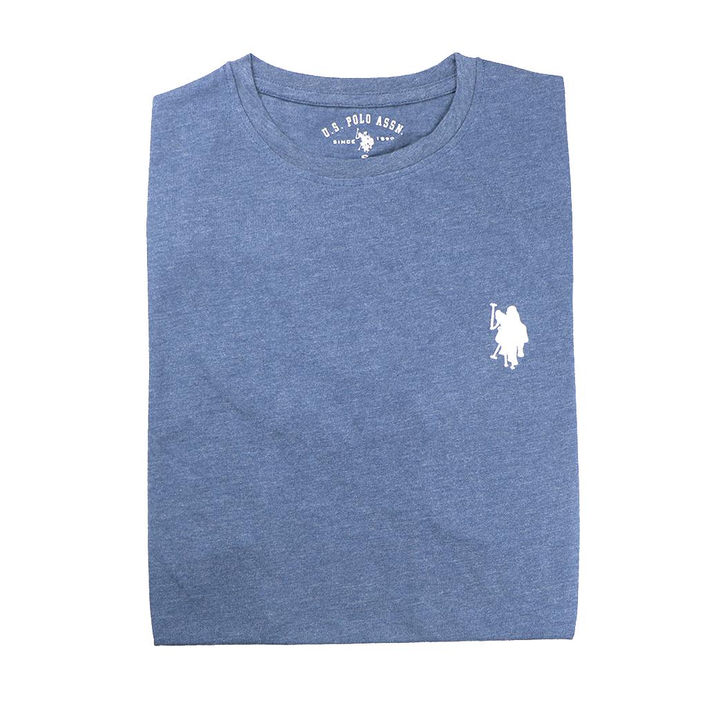 Men's Premium Quality Exclusive Fashionable Short Sleeve T-shirt (navy Blue)