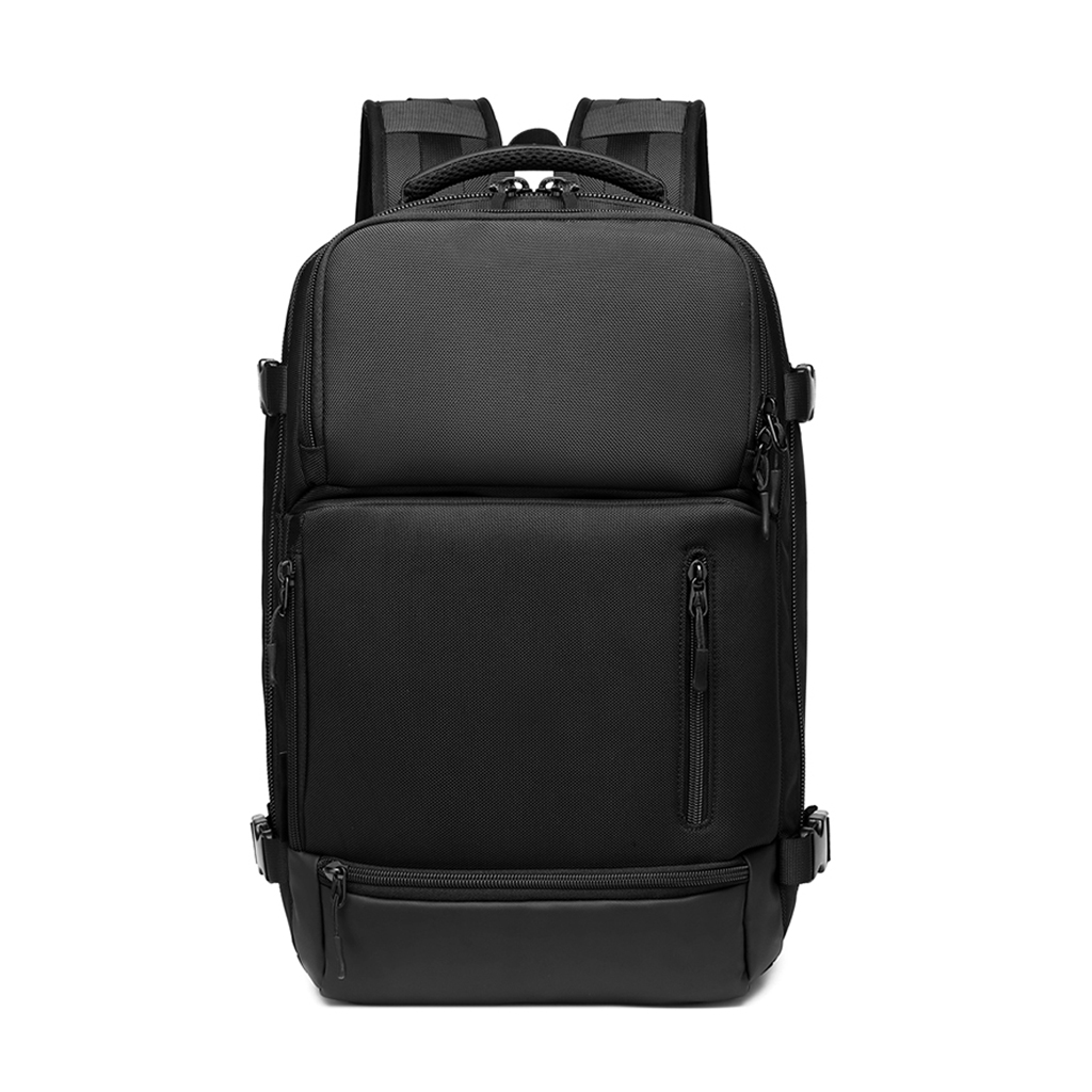 Ozuko 9405l Large Capacity Outdoor Usb Charging Multifunctional Waterproof Laptop, Business And Travel Backpacks (black)