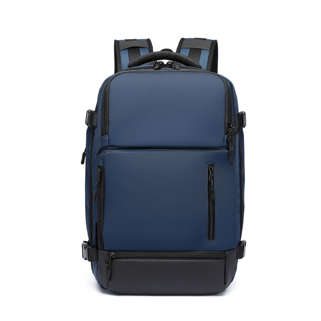 Ozuko 9405l Large Capacity Outdoor Usb Charging Multifunctional Waterproof Laptop, Business And Travel Backpacks (blue)