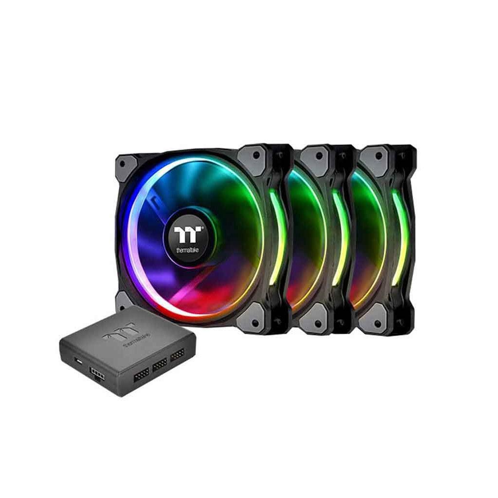 Thermaltake Riing Plus 12 Rgb Radiator Fan Tt Premium Edition (3 Fan Pack)