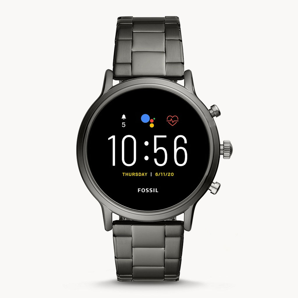 Fossil Gen 5 Ftw4024 Carlyle Stainless Steel Smartwatch