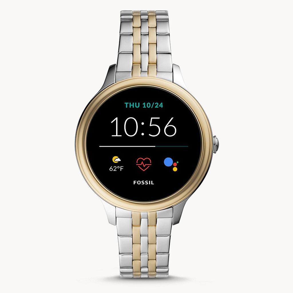 Fossil Gen 5e Ftw6074 Two-tone Stainless Steel Smartwatch