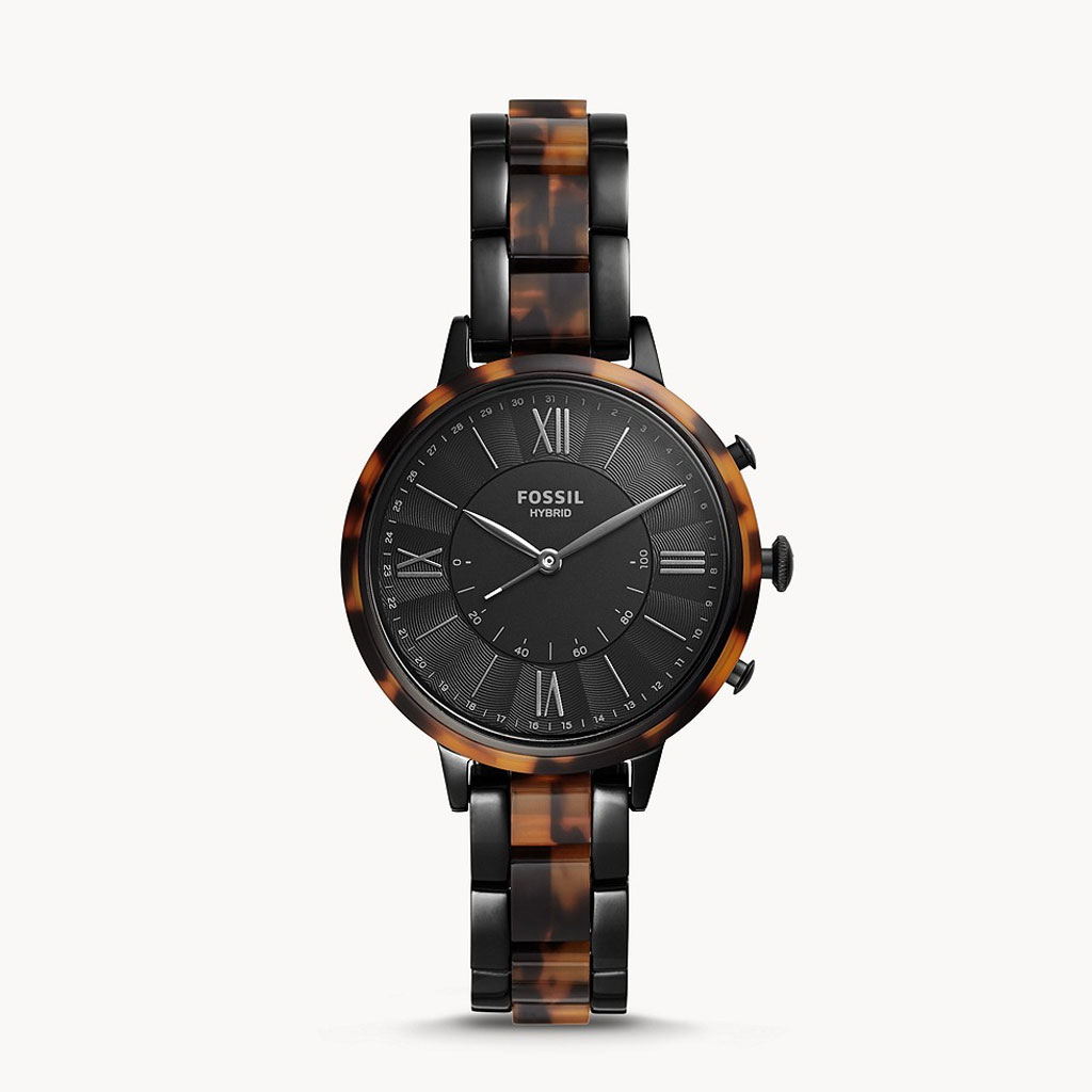 Fossil Hybrid Ftw5058 Jacqueline Two-tone Stainless Steel Smartwatch