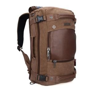 Witzman 21 Inch Deep Brown Travel Backpack
