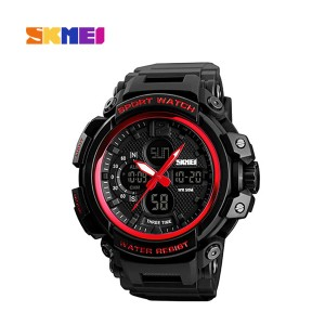 Skmei 1343rd Dual Time Countdown Digital Watch For Men