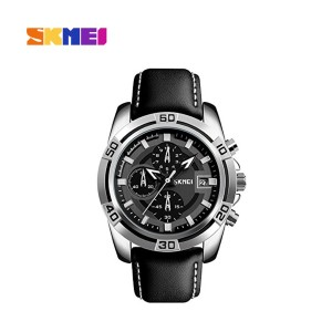Skmei 9156sl S-shock Chronograph Black Dial Men & Boys Watch