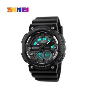 Skmei 1235bl Men Analog Digital Watch