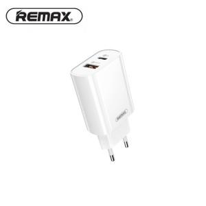 Remax Rp-u37 Qc + Pd Fast Charging Adapter