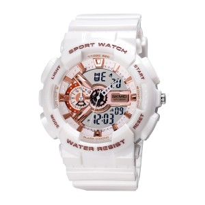 Skmei 1688wh Men Analog-digital Wrist Watch