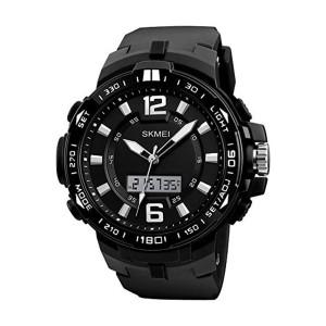 Skmei 1273bl Men Analog-digital Wrist Watch
