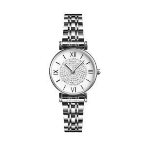 Skmei 1533sl Steel Strap Watch For Women