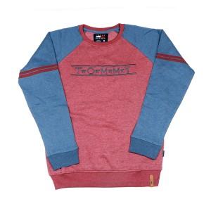 Men's Winter Crewneck Sweatshirts (maroon)