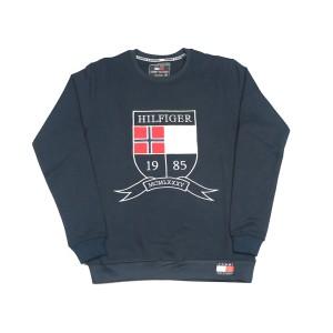 Men's Winter Export Quality Crewneck Sweatshirts (navy Blue)