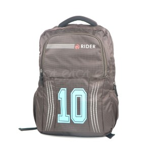 Espiral Rider 10series Nylon Fabric Super Light Weight Traveling School College Backpack (chocolate)