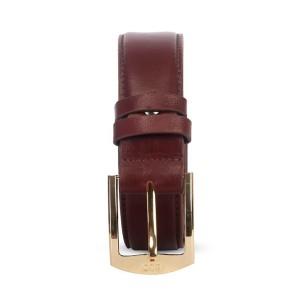 Ssb Premium Quality Genuine Leather Belt For Men - Sb-b53 (dark Coffee)