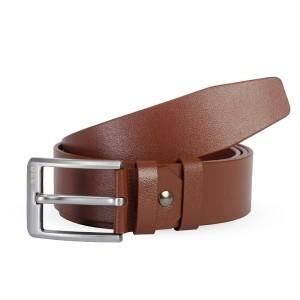Ssb Leather Belt For Men - Sb-b56 (brown)