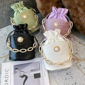 Chain Bucket Mini Handbag