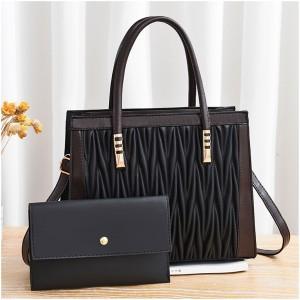 Dual Messenger Dl096 Handbags - Black