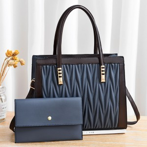 Dual Messenger Dl096 Handbags - Blue