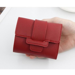 Card Holder Coin Purse - Red