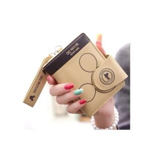 Mickey Mini Wallet - Brown