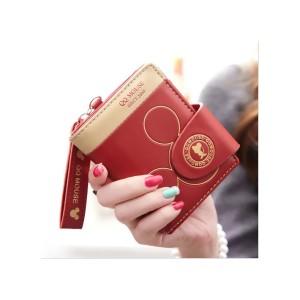 Mickey Mini Wallet - Red