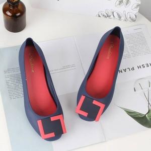 Women Wedge Shoes 912 - Blue
