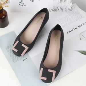Women Wedge Shoes 912 - Black