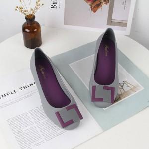 Women Wedge Shoes 912 - Grey