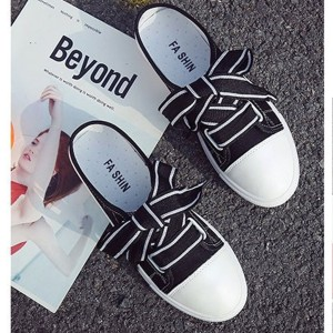 Half Sneakers For Women - Black